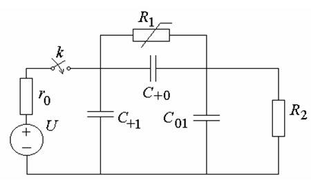 Схема электрической цепи ИК