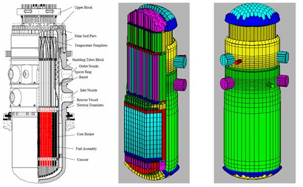 Рис.1 Общий вид реактора и